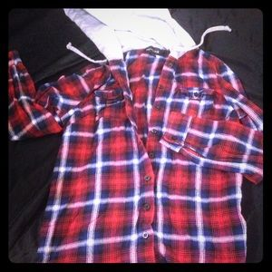 Hooded Flannel M