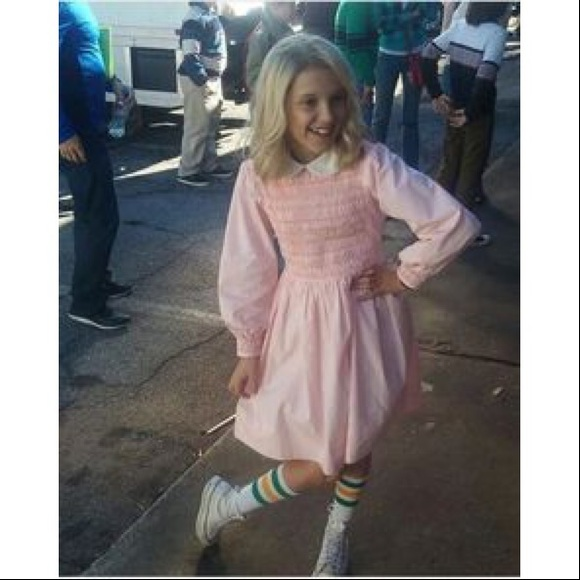 699a03c03a Stranger Things Eleven Costume