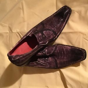 Robert Wayne Other - Men's brown Robert Wayne leather shoe w detailing