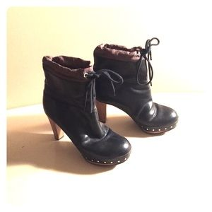 Marni Shoes - Black Marni Ankle Boots
