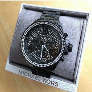 Michael Kors  Accessories - NWT Michael Kors Crystal Glitz Chronograph watch