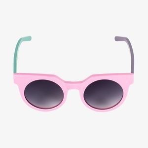 Poppy lissimen LAZY OAF pink sunglasses