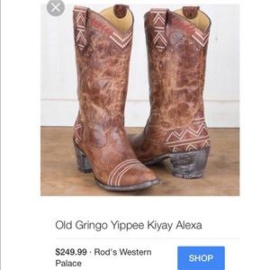 Old Gringo Shoes - Mint condition Old Gringo cowgirl boots