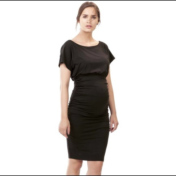 48892c6901 Isabella Oliver Dresses   Skirts - Isabella Oliver Maternity Black Eliot  Dress