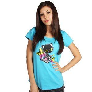 tokidoki Tops - Tokidoki Dance Machine Ice Blue Tee T-Shirt