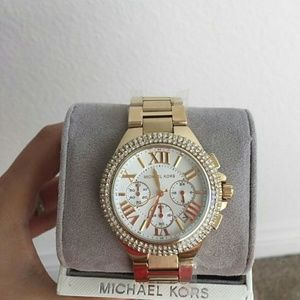 Michael Kors  Accessories - NWT Michael Kors Chronograph gold watch