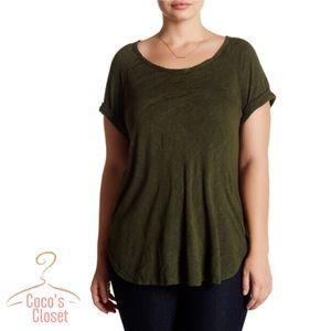 bobeau Tops - NWT slub knit top