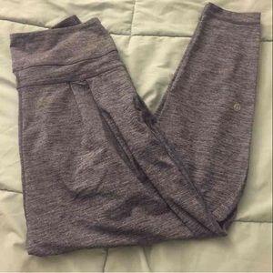 lululemon athletica Pants - Lululemon 4 gray yoga pants