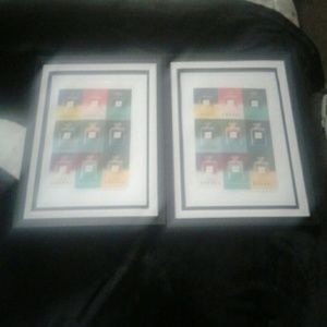 CHANEL Accessories - Sale😉2 CHANEL Andy Warhol on bond paper set of 2