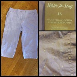 White Stag Pants - Gorgeous Lilac Capris
