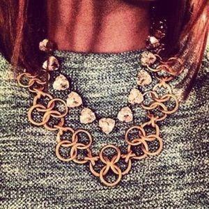 Stella & Dot Crosby Necklace Gold