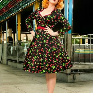 pinup girl clothing  Dresses & Skirts - *MMD SALE**Pin up girl clothing heidi in cherry
