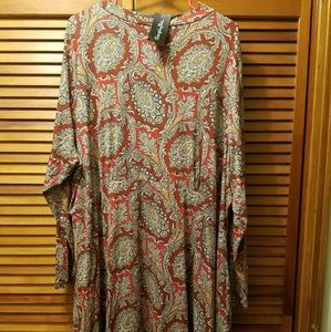 Simply Be Dresses & Skirts - Simply Be Paisley Shift Dress Brand new w/tags
