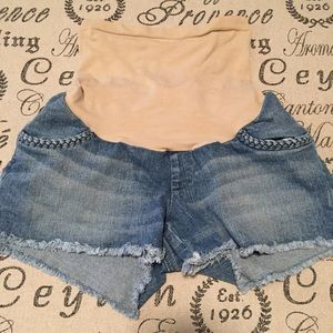 Jessica Simpson Shorts - Maternity jeans shorts by Jessica Simpson small