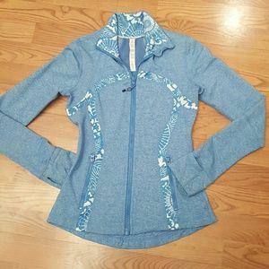 lululemon athletica Jackets & Blazers - Lululemon size 4 zip up blue