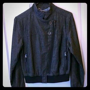 GentleFawn Jackets & Blazers - Gentlefawn Crossbody Zip Jacket; size XS.