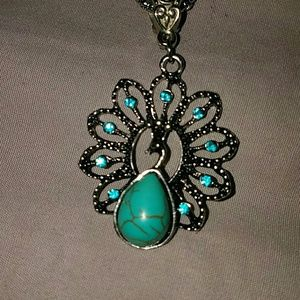 Jewelry - *Peacock Necklace - Read description for discount*