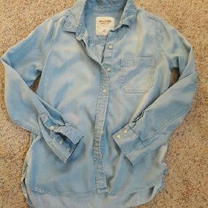Mossimo Supply Co. Tops - Mossimo chambray shirt