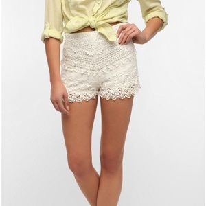 Urban Outfitters Pants - ✨WEEKEND SALE✨Urban Outfitters Crochet Shorts
