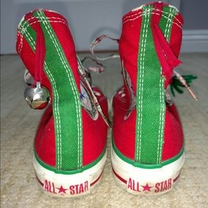 9108b29e7b6fbe Converse Shoes - Converse Chuck Taylor Christmas Vintage All Stars