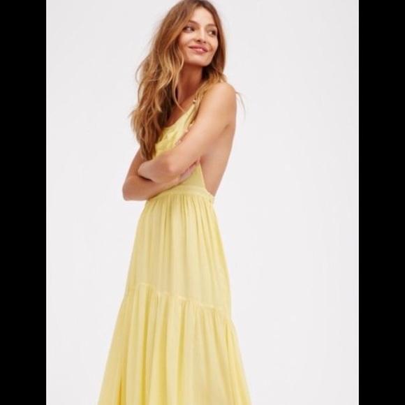 Free People Dresses & Skirts - NWT Free People Say U Wanna Dance maxi dress