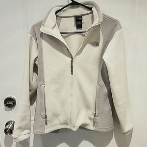 North Face Other - 💕NORTH FACE💕JUNIORS GREY AND WHITE JACKET💕