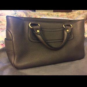 Celine Boogie Leather Bag (dark grey)
