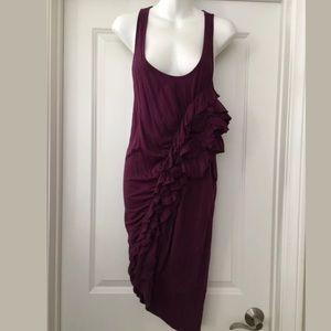 Elizabeth and James purple Sleeveless dress Sz S