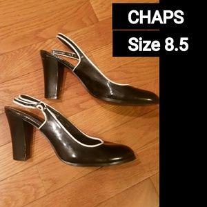 Chaps Shoes - CHAPS HEELS! SO PRETTY!