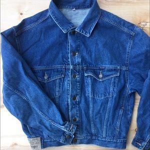 Wrangler Other - Wrangler jean denim jacket adult small vintage vtg