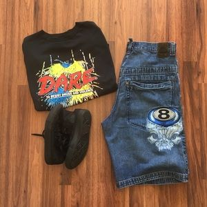 JNCO JEANS Other - 90s Vintage JNCO Jeans Shorts