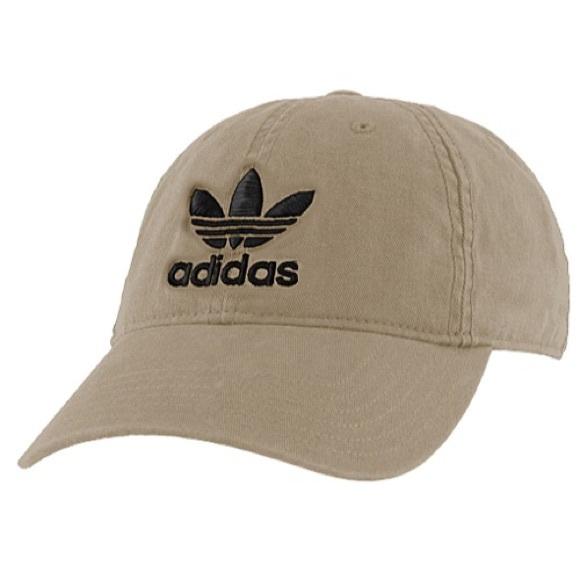 Adidas Accessories - ADIDAS KHAKI DAD HAT e1a5f35598e