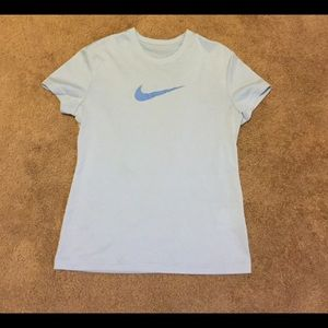 Nike Other - Nike Youth Dri-Fit Blue T-Shirt Size M