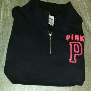 PINK Victoria's Secret Tops - V.S.PINK PULL OVER USED GREAT CONDITION. XS