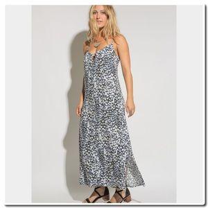 Dresses & Skirts - Two Arrows Blue  Print Summer Maxi Dress