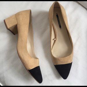 Zara Shoes - Zara Two-Tone Flats