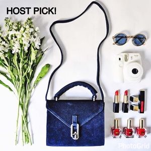 Urban Outfitters Handbags - ❤️HOST PICK❤️ Urban Outfitters Velvet Blue Bag