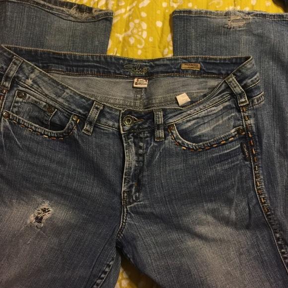 80% off torrid Denim - Torrid Silver jeans Frances flare from ...