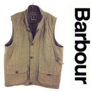 Barbour Other - BARBOUR Sportsman tweed waistcoat wool xl