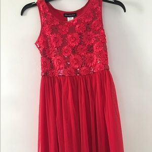 Other - Red dress for little girl size 8