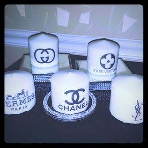 chanel Other - Designer Logo Candles