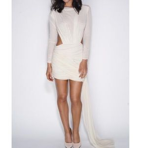 Want My Look Dresses & Skirts - Cream color sophisticated yet sexy dress