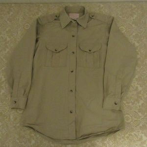 Filson Other - cc filson khaki chore work shirt style 52W sz 12