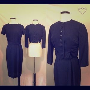 Authentic Vintage Jacket and Wiggle Dress