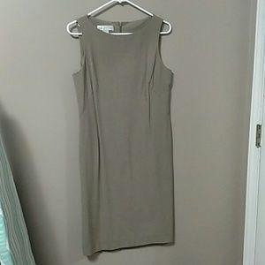 Studio Dresses & Skirts - Tan suiting dress