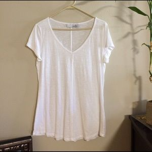 14th & Union Tops - NWOT White flowy top!