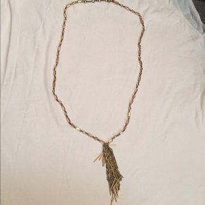 J. Crew Jewelry - HOST PICK 🎉 J.Crew Long Gold Statement Necklace