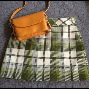 J. Crew Dresses & Skirts - J. Crew 100% Wool Plaid Mini Skirt