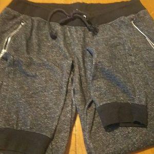 Ashley Blue Pants - Women's jogger comfy zip pocket pants