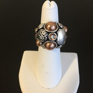 "Jewelry - NWT ""Pearl Reef"" dome ring"